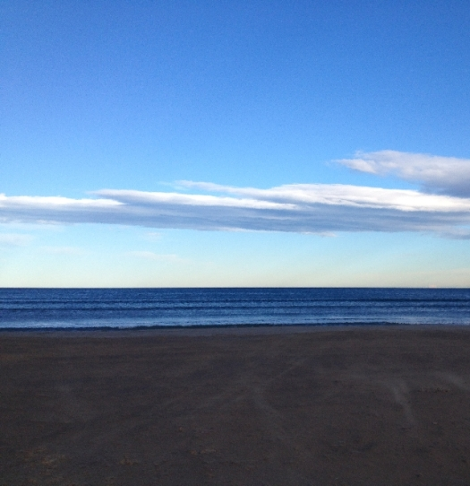 Sand, Sky, & the Deep Blue Sea